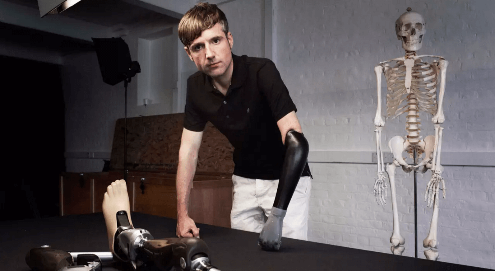 how to build a bionic man