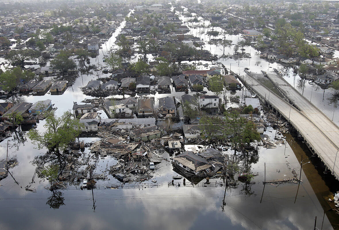 hurricane katrina two disasters The psychological effects caused by hurricane katrina changed the lives of many people, but evidence has been found that suggests that children who experienced this disaster will be at more increased risk of emotional and psychological changes than adults.